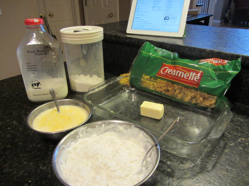 Noodle kugel recipe ingredients