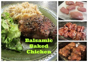 Balsamic Baked Chicken Recipe - Future Expat