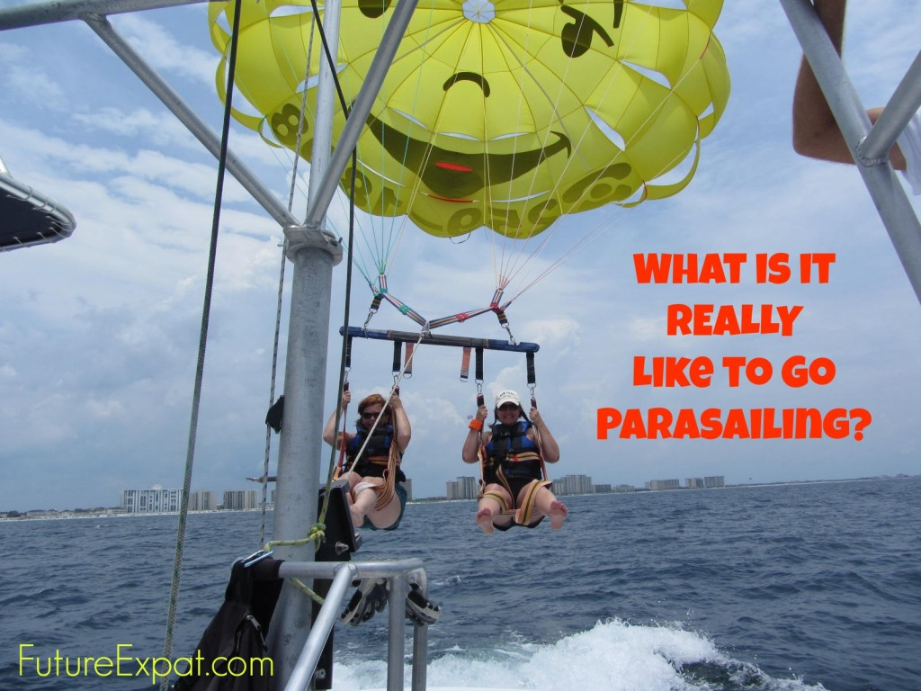 What is it Really Like to Go Parasailing - Future Expat
