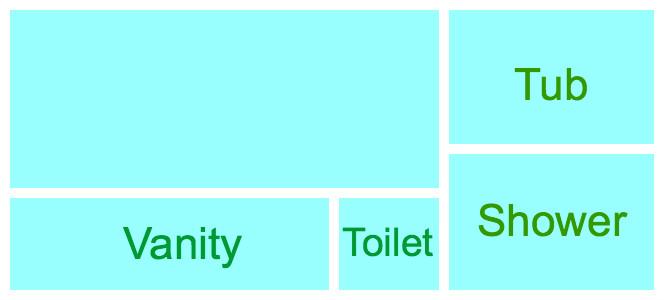 Bathroom layout - wont work
