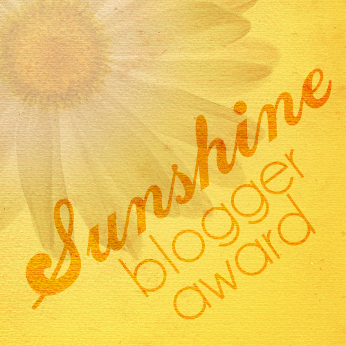 Sunshine Blogger Award 2017