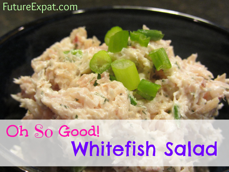Whitefish salad