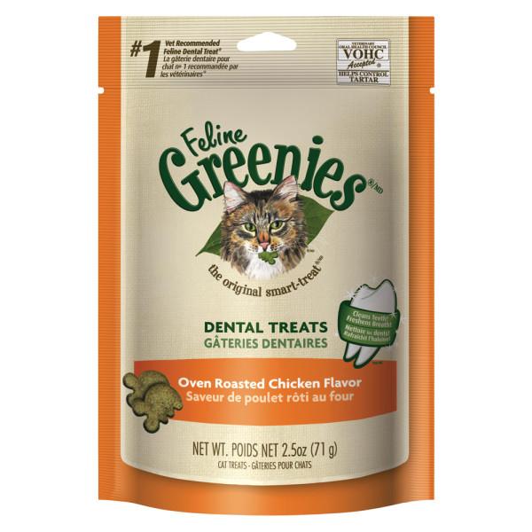 Feline greenies