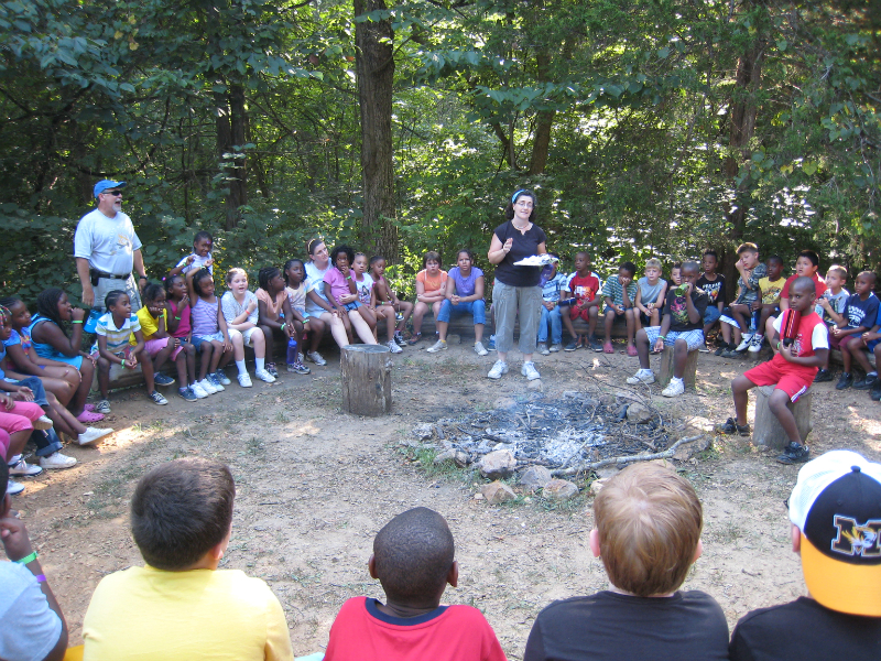 Sherwood Forest Camp kids