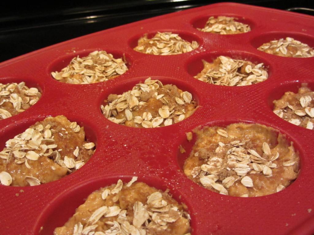 Oatmeal Pumpkin Muffins 5