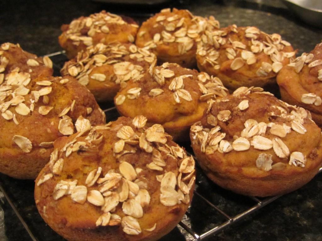 Oatmeal Pumpkin Muffins 7