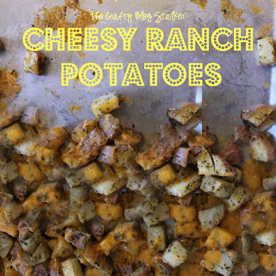 Pototo Recipe - Cheesy Ranch Potatoes