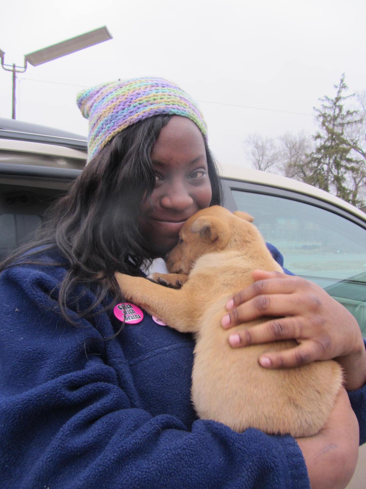Tremaya - Junior Pet Guardian with puppy