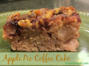 Apple pie coffeecake recipe - Future Expat