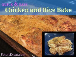 Chicken and rice recipe - Future Expat