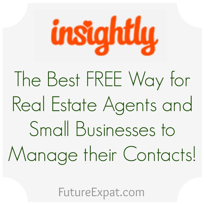 Insightly - the best free CRM for real estate and small businesses