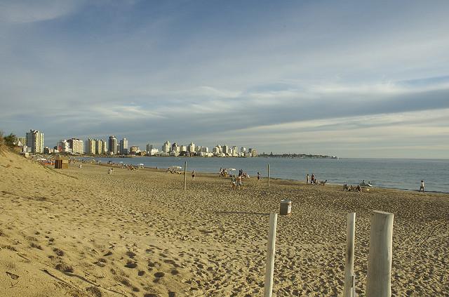 Uruguay beach - flickr