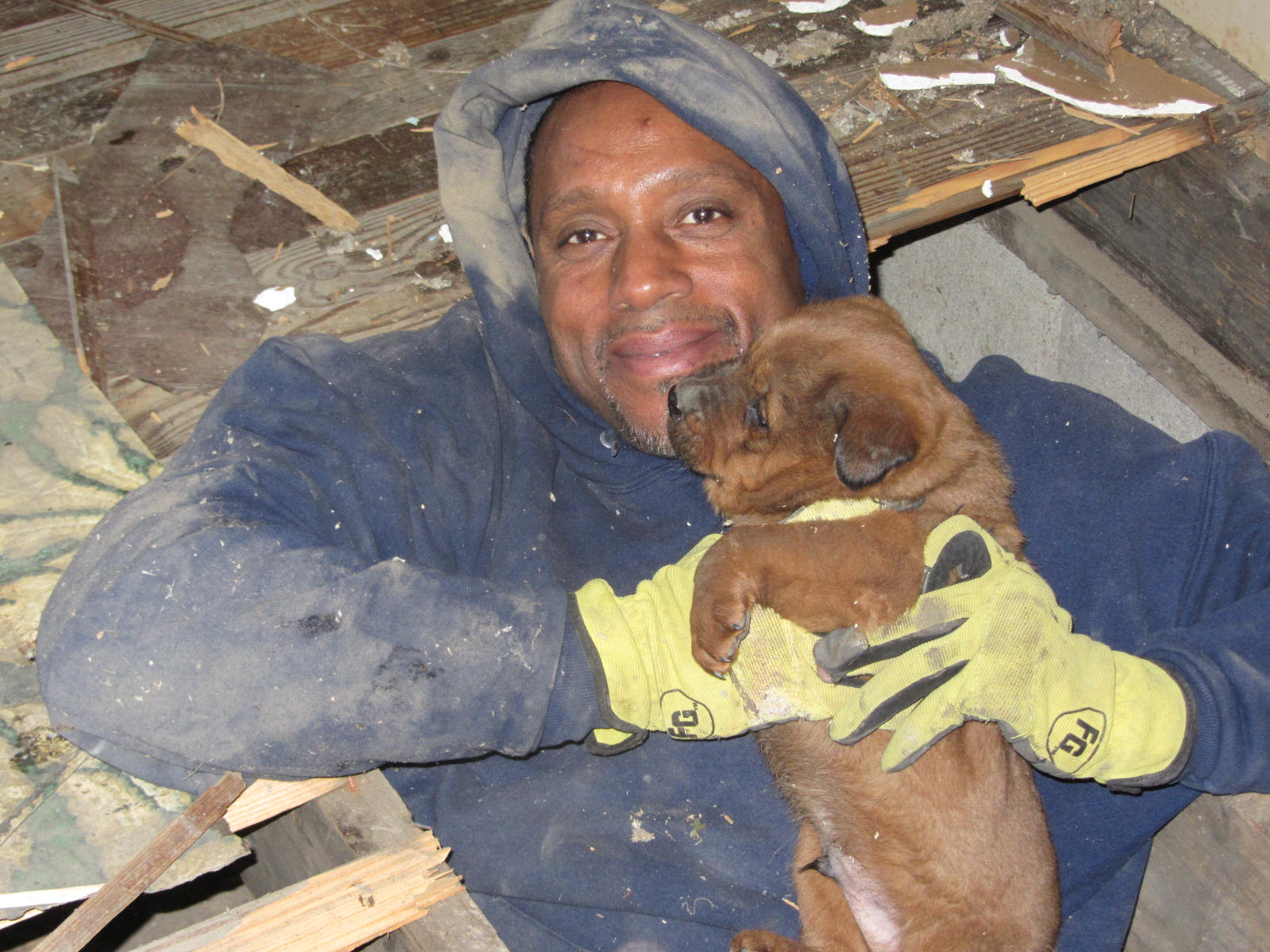 Community Outreach & Puppy Rescues in Impoverished East St. Louis
