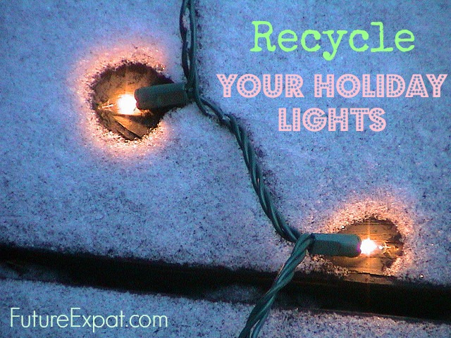 Recycle holiday lights (flickr tonystl)