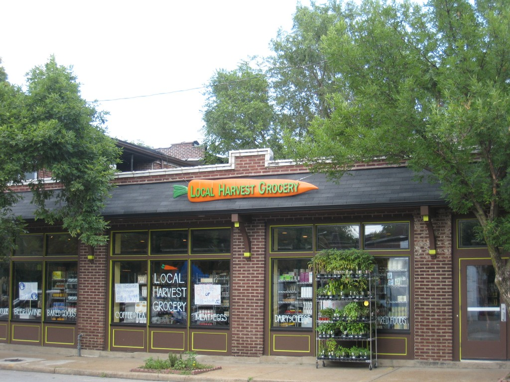 Tower Grove South - Local Harvest Grocery outside (1)