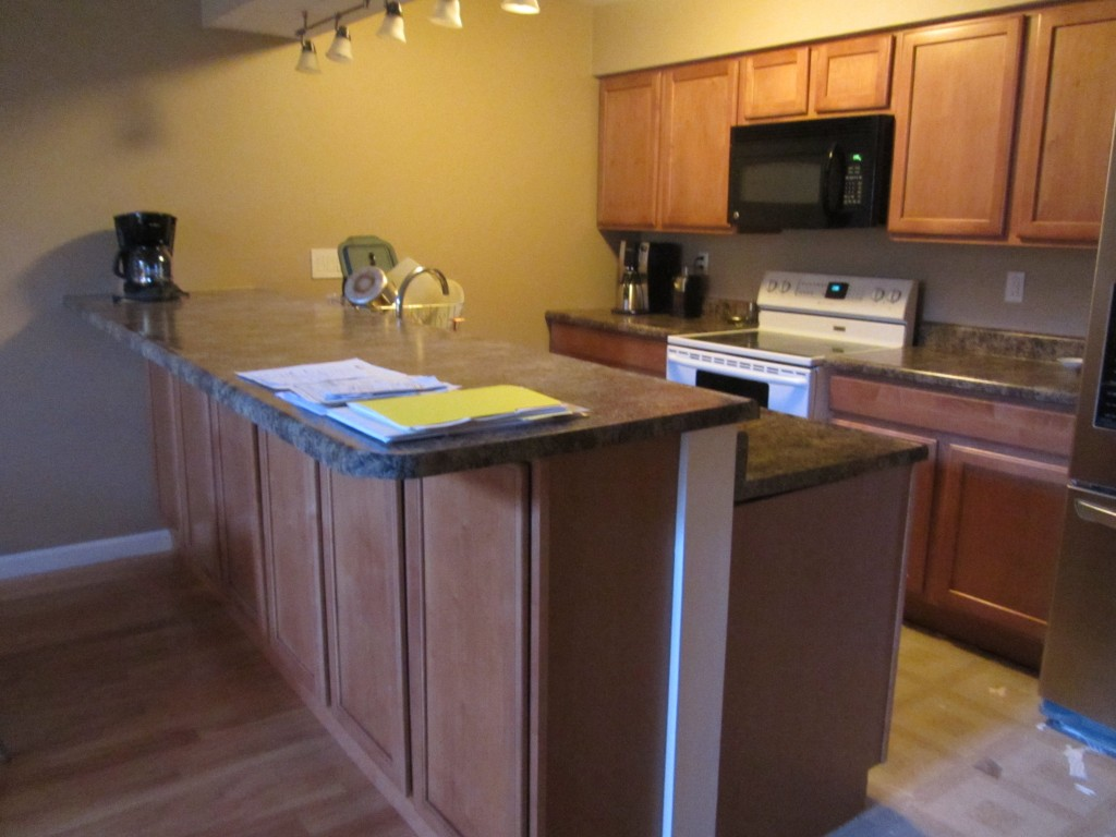 Galley Kitchen Remodel Before After Pictures Future Expat