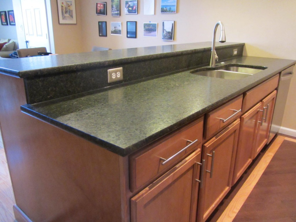 Kitchen remodel - peninsula with sink