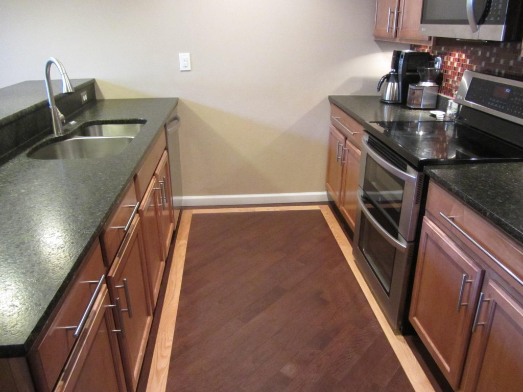 Kitchen remodel - widened