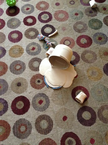 Wordless Wed - spilled paint