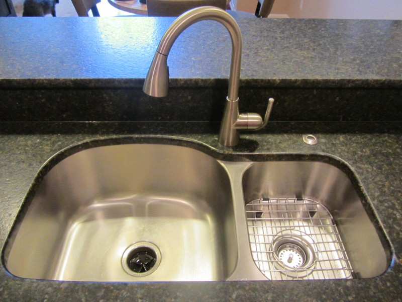 Kitchen remodel - double sink