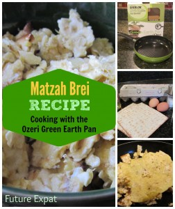 Matzah Brei Recipe - Cooking with the Ozeri Green Earth Pan | Future Expat