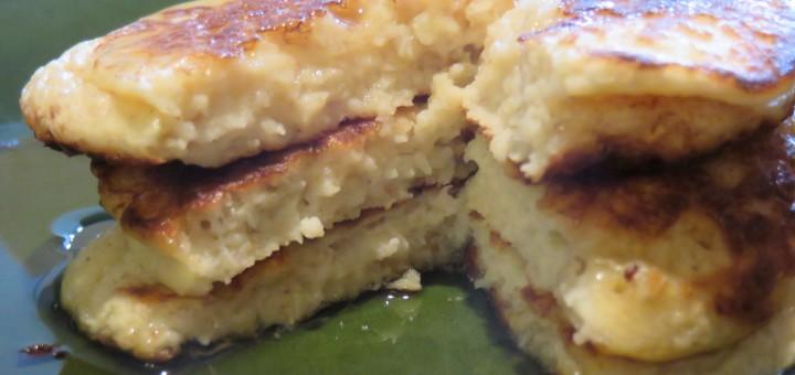 Recipe: Cottage Cheese Oatmeal Pancakes - Future Expat