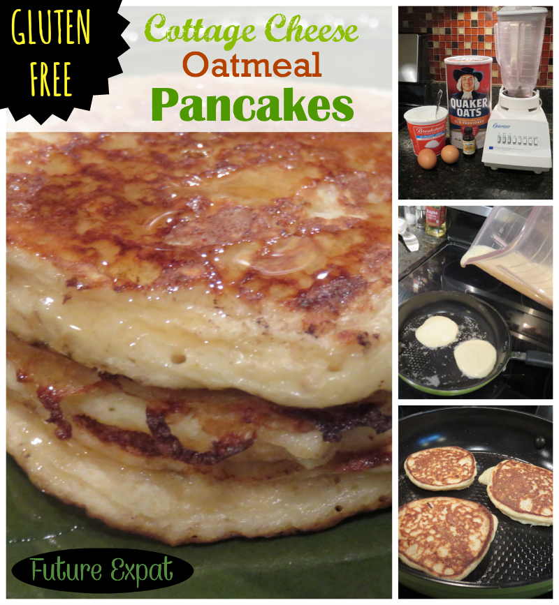 Gluten Free - Cottage Cheese Oatmeal Pancakes