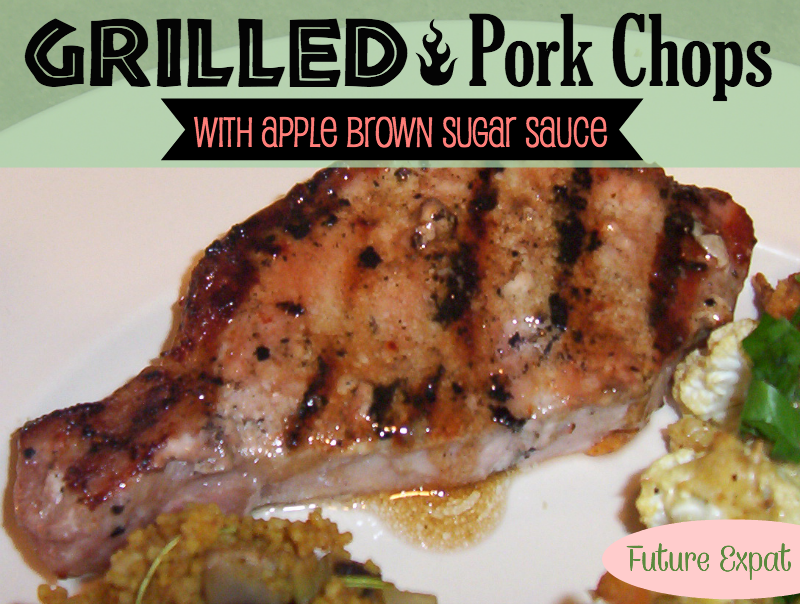 Grilled Brown Sugar Pork Chops Recipe — Dishmaps