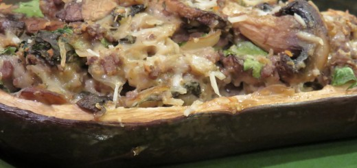Stuffed Ground Beef Eggplant Recipe - Future Expat