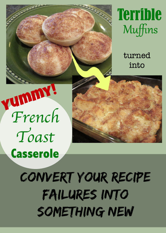 Convert Your Recipe Failures into Something New - Future Expat