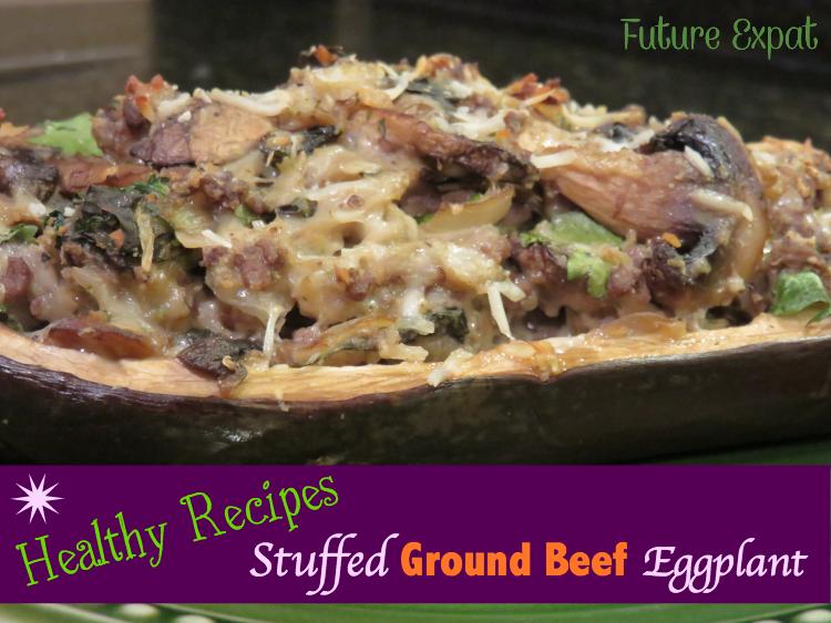 Stuffed Ground Beef Eggplant Recipe - Future Expat