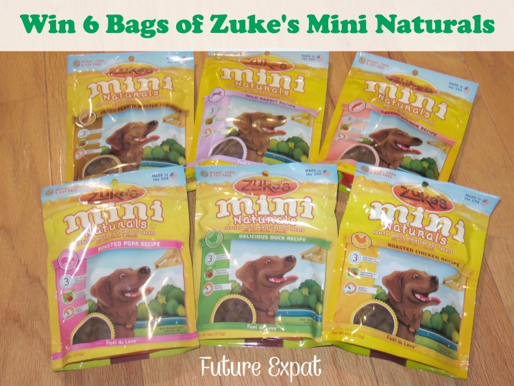 Win 6 bags of Zuke's Mini Naturals - Future Expat