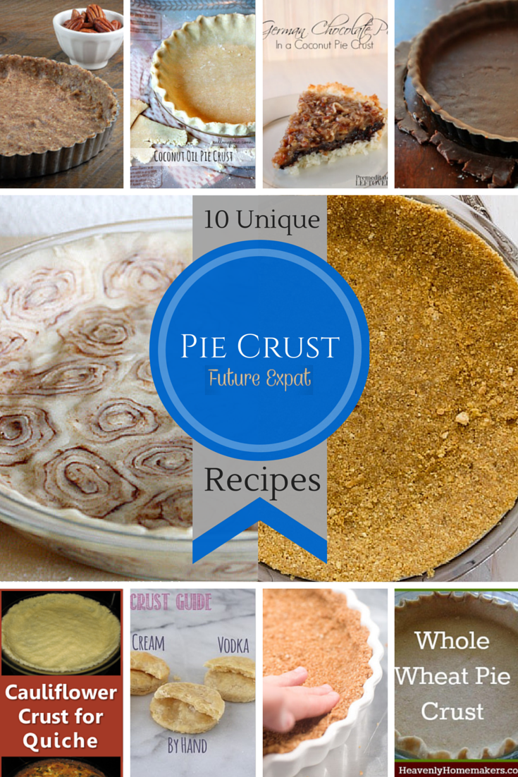10 Unique Pie Crust Recipes