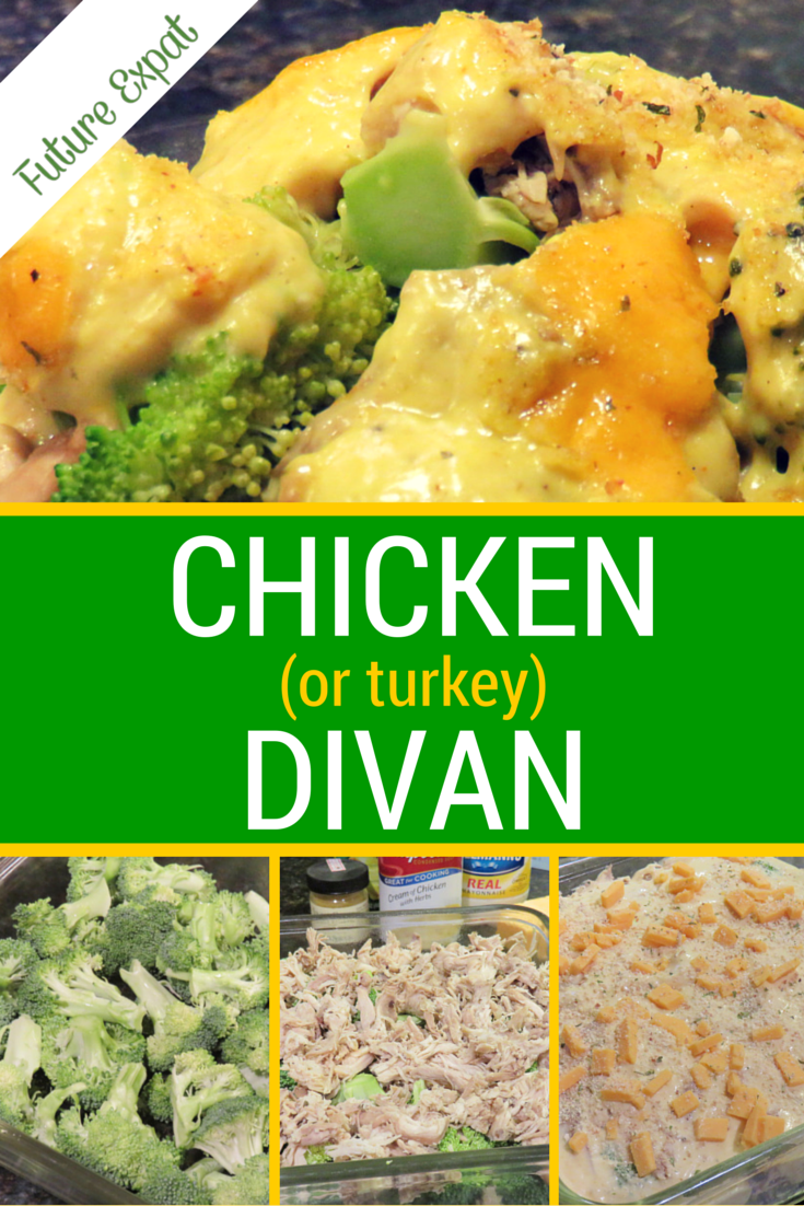 ... how easy it is to make Chicken Divan as much as I love how it tastes