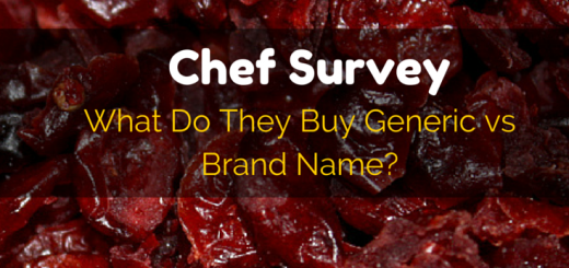 Chef Survey: What Do They Buy Generic vs Brand Name | Future Expat