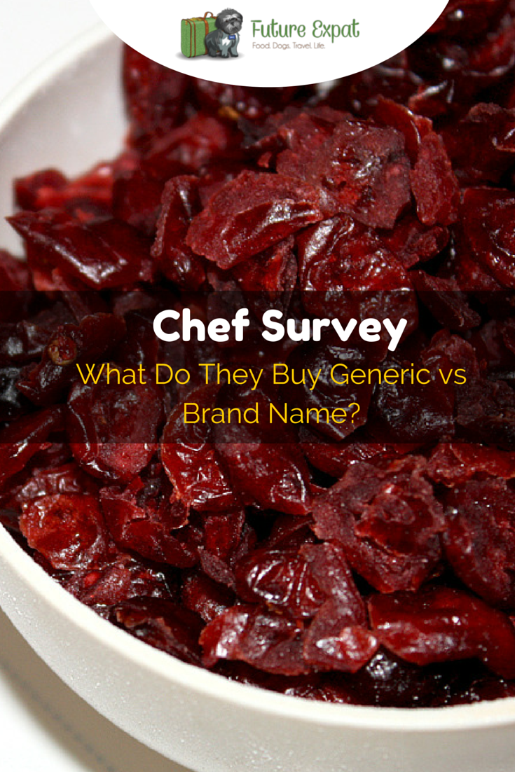 Chef Survey: What Do They Buy Generic vs Brand Name