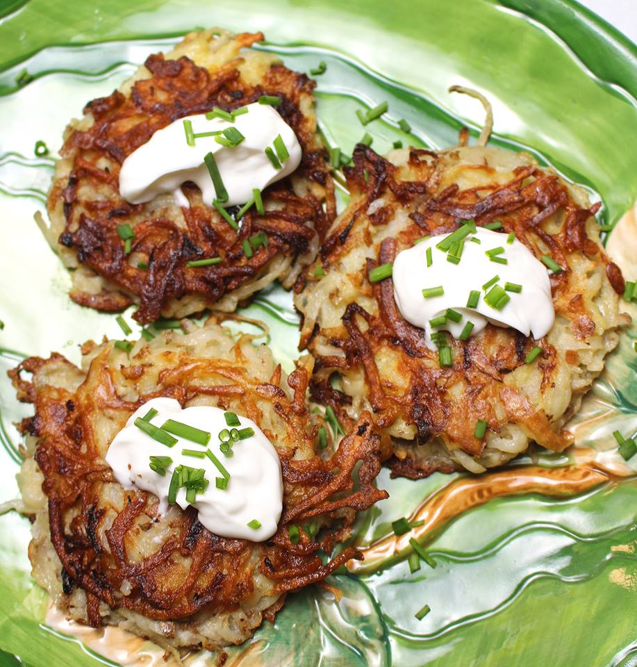 Hanukkah Latkes: Jewish Potato Pancakes