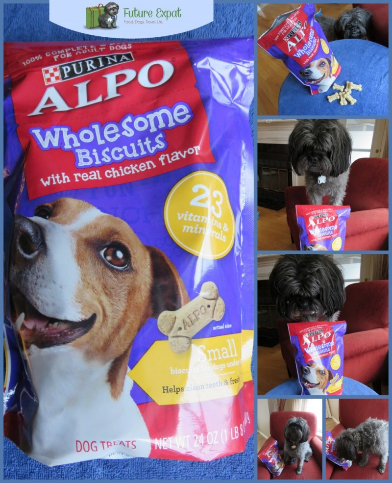 Milo with Alpo Wholesome Biscuits collage