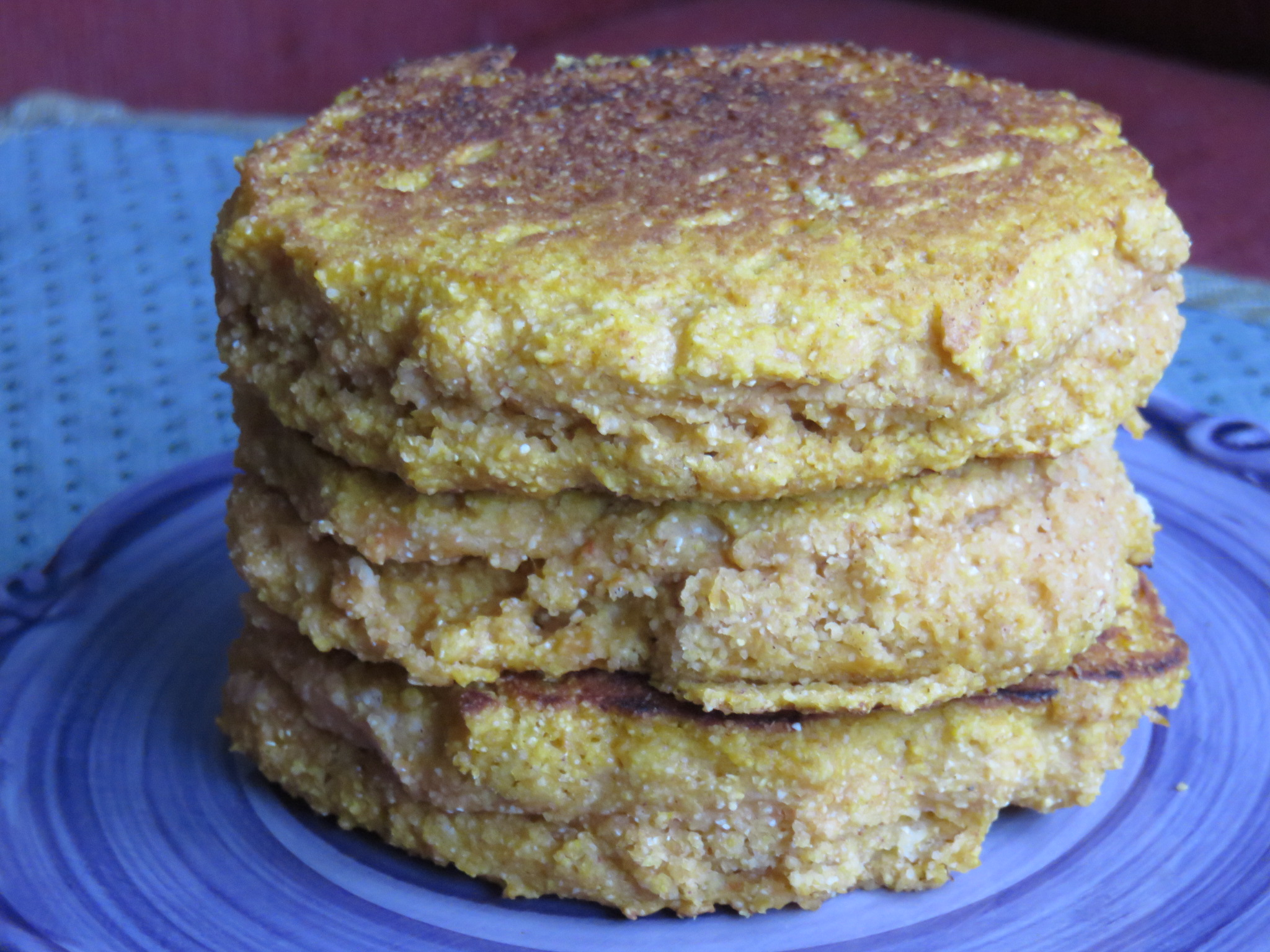 Special Breakfast Made Easy: Pumpkin Cornmeal Pancake Recipe