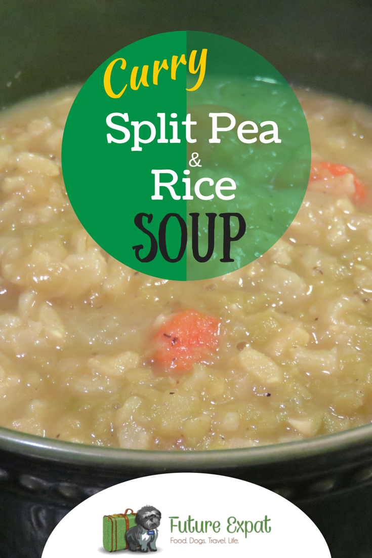 Curry Split Pea and Rice Soup Recipe | Future Expat