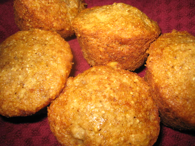 Passover Banana Muffins