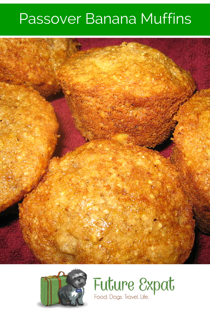 Passover Banana Muffins - Future ExpatPassover Banana Muffins - Future Expat