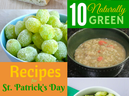 10 Naturally Green Recipes for St. Patrick's Day