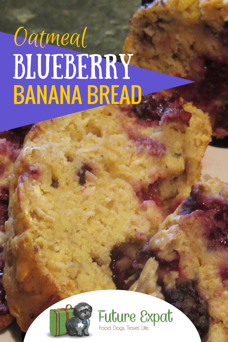 Oatmeal Blueberry Banana Bread | Future ExpatOatmeal Blueberry Banana Bread | Future Expat