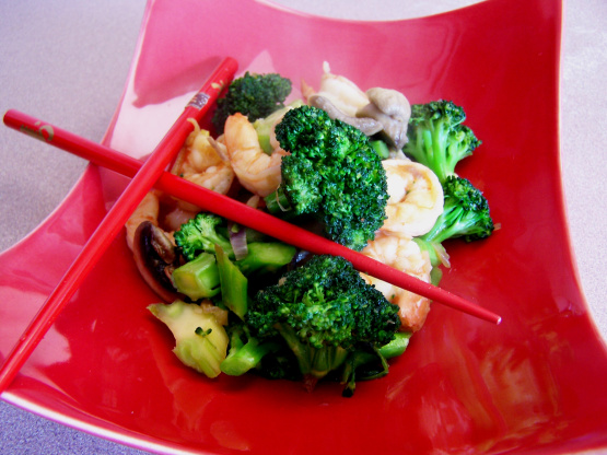 Shrimp and Brocolli Stir Fry | Future Expat