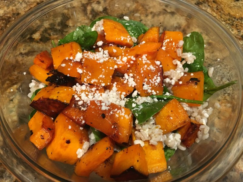 Barley & Honey Roasted Pumpkin Salad | Future Expat