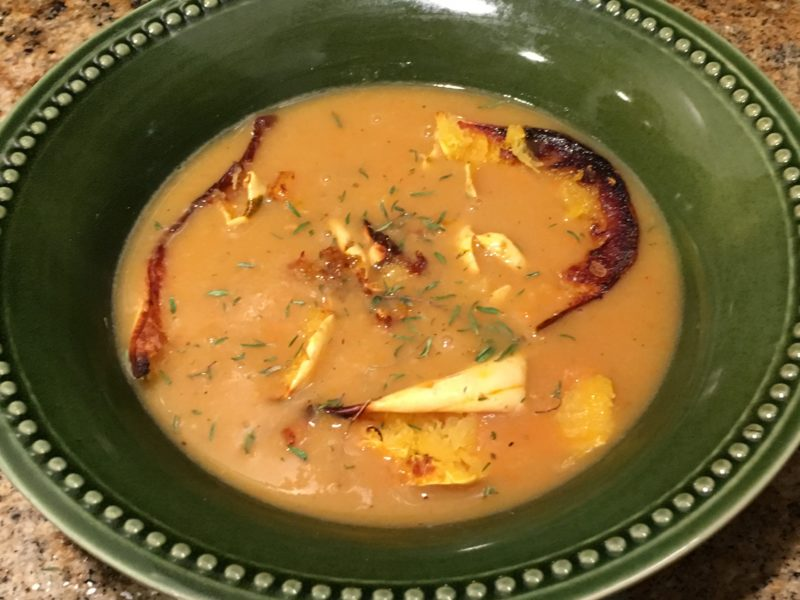 Coconut Curry Butternut Squash Soup   Future Expat