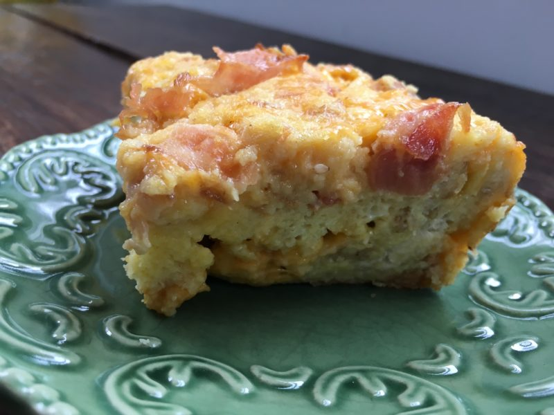Bacon Strata Bake