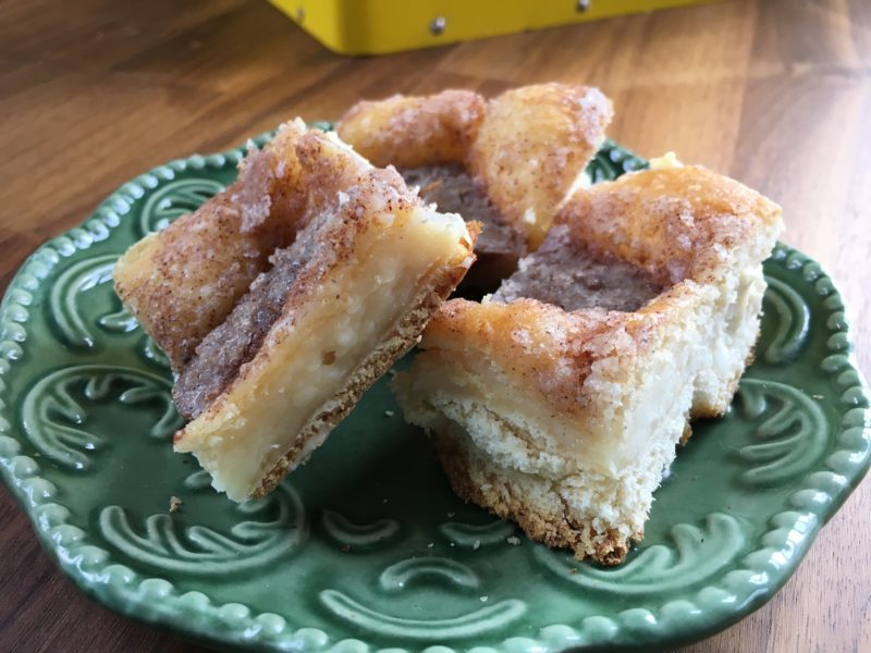 Mexican cheesecake squares