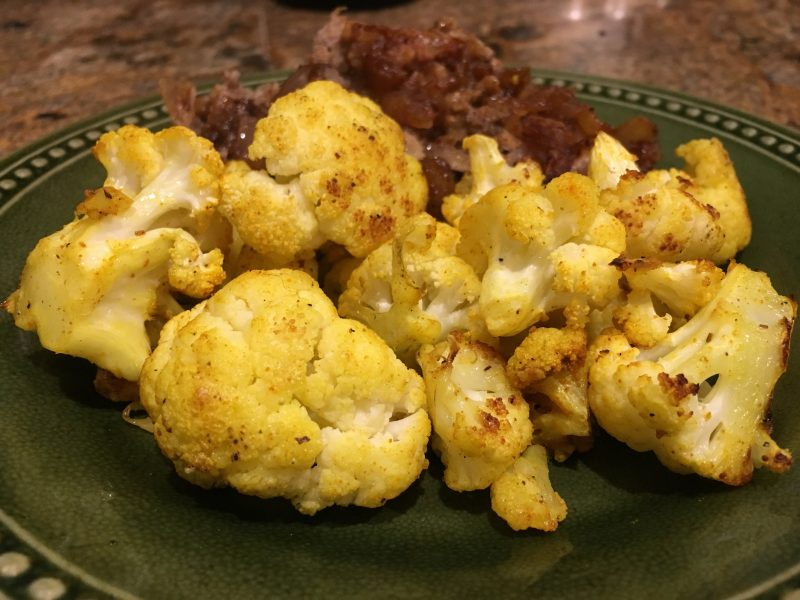 Indian Roasted Cauliflower | Future Expat
